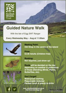 Guided Nature Walk_Eigg_SWT_2016