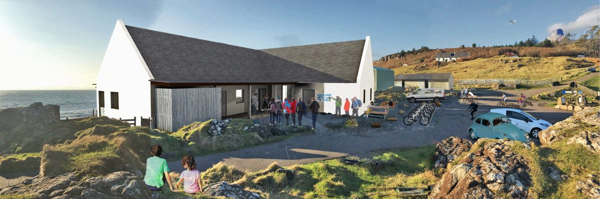 National Lottery supports new community facilities for Eigg
